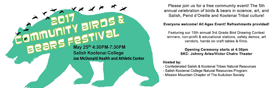 Community Birds & Bears Festival